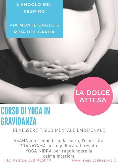 Yoga in gravidanza - L'Angolo del repsiro - Patriza Piccoli