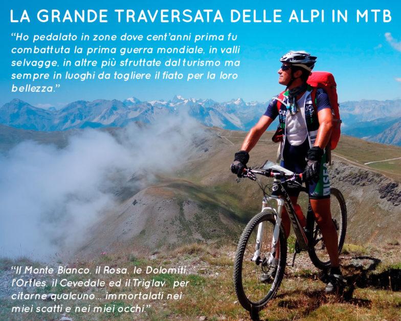 Maurizio Lazzarini - La Grande traversata delle Alpi